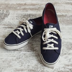 🧿Keds Double Up Navy Sneaker